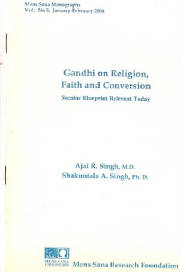 MSM 1(5), 2004. Gandhi on religion