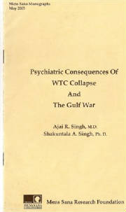 MSM 1(1), 2003. Psychiatry, WTC Collapse, Gulf war