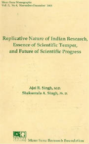 MSM 1(4), 2003. Indian research, scientific temper